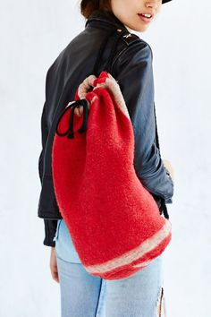 Brixton X UO Lucille Blanket Cape - Urban Outfitters