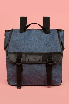 Chloe Sevigny for Opening Ceremony leather trim back pack