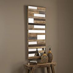 Uttermost Kaine High Wooden Wall Art is a quality for your ideas. Diy Wooden Wall, Diy Pallet Wall, Pallet Crafts, Wooden Decor, Diy Pallet Projects, Pallet Ideas, Wood Projects, Rustic Wood Walls, Wooden Walls