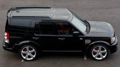 Vogue Your Discovery with the Latest KAHN Style Land Rover Discovery 2015, Discovery Car, Range Rover Black, Range Rover Sport, 2015 Honda Fit, Kahn Design, Suv 4x4, Bmw Alpina, Autos