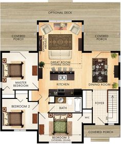 Willowcroft Floor Plan