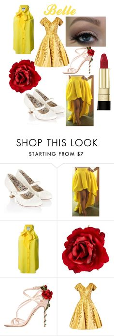 Belle by riki-davis on Polyvore featuring Moschino, Monsoon, Dolce&Gabbana and Accessorize
