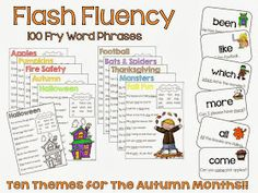 Falling Into First: Falling Into...FLUENCY!