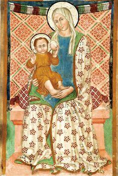 La Madonna del Latte - Il Maestro di Eggi - Chiesa di Santa Maria Assunta a Vallo di Nera