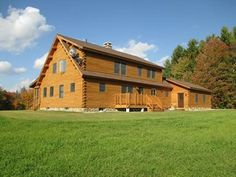 81 best log home exteriors images log homes exterior cedar log rh pinterest com