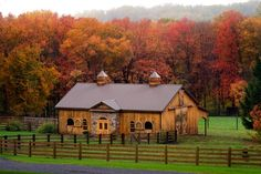 Barn in autumn  by Donald Reese Photography  Backroad discoveries