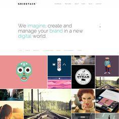 GridStack Agency WordPress Theme | Best WordPress Themes 2013