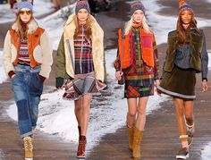 Tommy Hilfiger Fall/Winter 2014-2015 Collection – New York Fashion Week - Fashion Trends, Makeup Tutorials, Hairstyles and Style Secrets