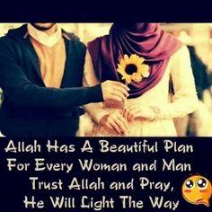 Trust Allah :)