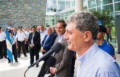#BarreraIntendente en la inauguración de la Escuela de Policía Local junto al Gobernador #DanielScioli