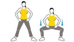 Bein-Push: Verbessert Kraft und Flexibilität in den Oberschenkeln und im Po