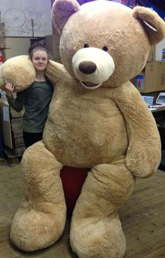 937c2ce622e Teddy Bear 8 Foot Stuffed Plush Animal Toy Gigantic Large Costco Bear