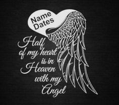 Angel Heart Wings In Memory of Personalize Vinyl Decal Car Dream Tattoos, Future Tattoos, Love Tattoos, Sexy Tattoos, Body Art Tattoos, Tatoos, Tribal Dragon, Tribal Arm, Tattoo Und Piercing