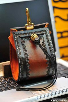 Belt Bag the Brown Shnizzler  Unisex by stevebleatherworks on Etsy, $225.00