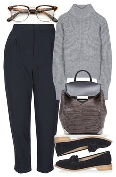 """Untitled #4605"" by style-by-rachel ❤ liked on Polyvore featuring Topshop, Acne Studios and Alexander Wang"