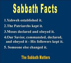 obey and trust in Yahweh,