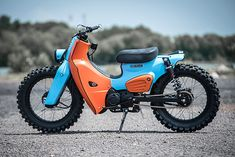 NEW DIRTY BASTARD. K-Speed's Hip Hop Honda Super Cub Scrambler - Pipeburn.com