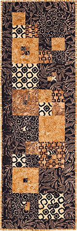 Macchiato Cafe Table Runner Kit at The Pine Needle Quilt Shop