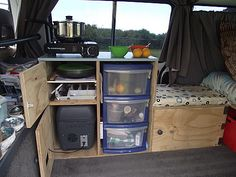 Van kitchen