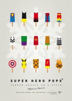 MY SUPERHERO ICE POP UNIVERS