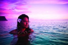 Submerge yourself in idyllic Samoan sunsets
