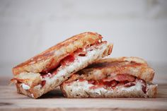 food and other stuff: Goat Cheese and Pepper Jelly Grilled Cheese
