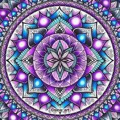 Linda mandala!!!! @Regrann from @sine_art - #ChameleonPens #Staedtler #fineliners #artecomoterapia #mandala #zen #colorir #coloring #coloriage #colorful #art#arts#instaart#instacoloring#arttherapie #Regrann