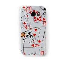 #poker Deck Of Scattered Playing Cards. #samsung #case Galaxy Case/Skin