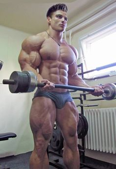 Muscular Stud Spitroasted By Fit Jocks