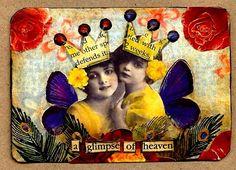Artist Trading Card, Cristina Zinnia Galliher