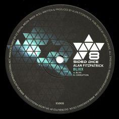 "Alan Fitzpatrick - Blixx / Corruption 12"" ESD035 8 Sided Dice Recordings"