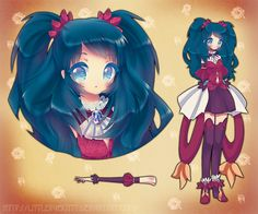 Mage girl adoptable (AUCTION-CLOSED) by LittleRueKitty on DeviantArt