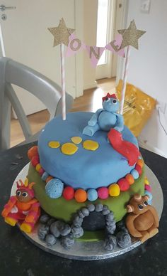 Does your little CBeebies fan love Igglepiggle, Upsy Daisy and Makka Pakka? Celebrate their special birthday with this adorable In the Night Garden cake 🎂 Special Birthday, 2nd Birthday, Birthday Parties, Birthday Ideas, Bbc Kids, Kids Tv, Cbeebies Cake, Garden Cakes, Night Garden