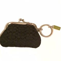 Coach Signature coin purse Coach Signature coin purse. Black. Never been used! Coach Bags