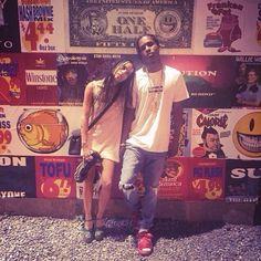 Zoë Kravitz and A$AP Rocky