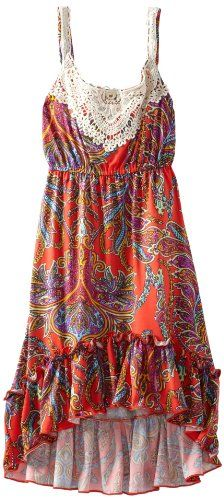 Kids dresses - Pin It :-) Follow Us :-))  azDresses.com  is your  Dresses Product Gallery.  CLICK IMAGE TWICE for Pricing and Info :) SEE A LARGER SELECTION of  kids dress at  http://azdresses.com/category/dress-categories/dresses-by-type/kids-dresses/  - baby girl, toddler dress , dresses, dress, kids dress  - Rare Editions Girls 7-16 Paisley Print Dress, Multi Colored, 10 « AZdresses.com