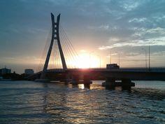 Suspension Cable Bridge - Ikoyi - Lekki. Lagos Nigeria Suspension Cable, Fabric Design, Peeps, Bridge, Bohemian, Fresh, Adventure, World, Building