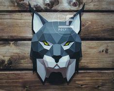 Pit bull Dog Paper Craft Digital Template Origami PDF | Etsy Rabbit Sculpture, Sculpture Art, Origami, Low Poly, Art Calendar, 3d Paper Crafts, Dog Modeling, Art Model, Color Card