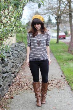 Zoey Deschanel Style (New Girl) http://www.delightfully-tacky.com/2013/03/the-new-girl.html