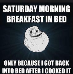 Breakfast in bed is the best