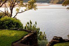 Jardim em Port Hacking, Sydney, estado de Nova Gales do Sul, Austrália.