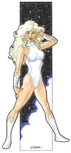 Dream Girl by George Perez - Legion of Super-Heroes LSH DC Comics