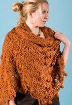 SunRays Crochet Shrug & Shawl