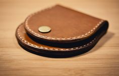 http://chicerman.com  northwardhandcraft:  Handmade Hoof Style Leather coin purse  #accessories