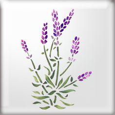 Lavender Stencil