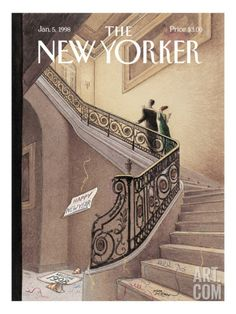 The New Yorker Cover - January 5, 1998, Harry Bliss
