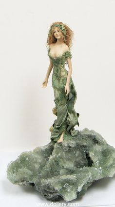 Susan Snodgrass Collectible Dolls - Apophyllite, absolutely beautiful!!
