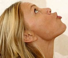 10 Yoga Exercises For Slimming Your Face. This is kinda funny, but I'm doing it. Lol