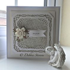 Good Morning everyone, Todays card is using the lovely Sue Wilson dies, I am loving the new collection, so here is what I have used. Sue Wilson Dies, Paper Art, Paper Crafts, Spellbinders Cards, Die Cut Cards, Marianne Design, Flower Cards, Greeting Cards Handmade, Cardmaking