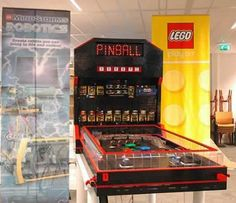 12 Most Realistic Lego Sculptures (realistic sculptures) - ODDEE Gerrit and Martijn from the Netherlands used over 20,000 lego bricks and spent 300 hours building this playable pinball machine! (Source)